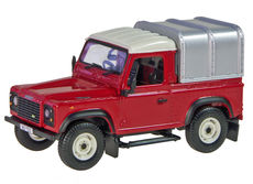 LAND-ROVER DEFENDER UTE with CANOPY