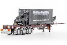 DRAKE O-PHEE BOX CONTAINER SIDE LOADER (burgundy) with CONTAINER