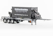 DRAKE O-PHEE BOX CONTAINER SIDE LOADER (silver) with CONTAINER