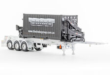 DRAKE O-PHEE BOX CONTAINER SIDE LOADER (white) with CONTAINER
