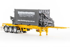 DRAKE O-PHEE BOX CONTAINER SIDE LOADER (yellow) with CONTAINER