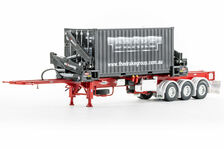 DRAKE O-PHEE BOX CONTAINER  SIDE LOADER (red) with CONTAINER