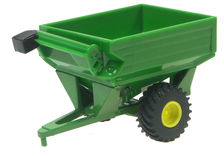 ERTL CHASER BIN (green)   plastic model  (no box)