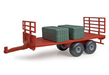 ERTL FLAT BED TRAILER (red)  Big Farm Series