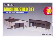 ERTL MACHINERY SHED SET