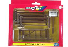 BRITAINS FARM FENCES with GATE (3 fence panels + gate)