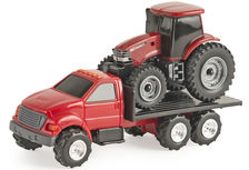 FORD F650 TRAY TRUCK with CASE/IH MAGNUM TRACTOR