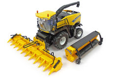 NEW HOLLAND FR850 SELF PROPELLED FORAGE HARVESTER with TWO HEADS