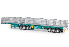 FREIGHTER MaxiTRANS B-DOUBLE FLAT TOP TRAILER SET (Toll livery)