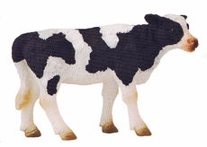 COLLECTA FRIESIAN CALF,  Standing