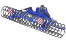 LEMKEN FURROW PRESS ROLLER (front linkage mounted for BR tractors)