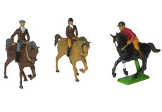 BRITAINS HORSE with RIDER, each
