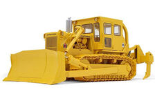 IH TD25 DOZER with REAR RIPPERS  very detailed model