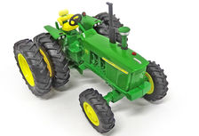 JOHN DEERE 4020 TRACTOR with FWA and REAR DUALS
