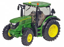 JOHN DEERE 6125R TRACTOR  (faded box)