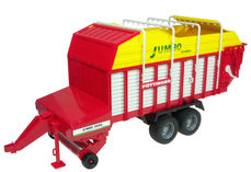 POTTINGER JUMBO 6600 FORAGE TRAILER for BR tractors