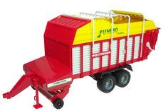 POTTINGER JUMBO 6600 FORAGE TRAILER for BR tractors