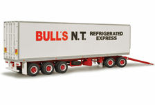 KENWORTH ADDITIONAL REFER TRAILER & DOLLY to suit BULLS N.T EXPRESS