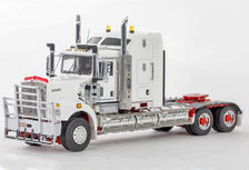 KENWORTH C509 PRIME MOVER revised version (white/red, burgundy)   Very detailed