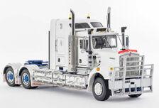 KENWORTH C509 SLEEPER CAB PRIME MOVER (white/blue 01520 or white/black 01523)