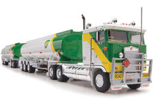 KENWORTH K100 TANKER ROAD TRAIN  BP Livery