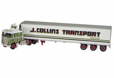 KENWORTH K100 with TRI-AXLE PANTECH TRAILER  Collins Transport livery