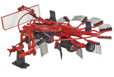KUHN GA 4731 SINGLE ROTOR HAY RAKE  (very detailed)