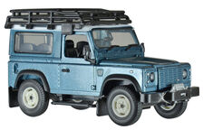LAND-ROVER DEFENDER 90 HARDTOP with ROOF RACK