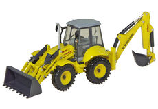 NEW HOLLAND LB115B BACKHOE LOADER  very detailed