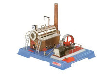 WILESCO LIVE STEAM BOILER/ENGINE 500cc Double Acting