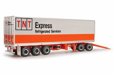 MACK ADDITIONAL TRAILER & DOLLY to suit TNT REFER ROAD TRAIN