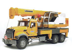 MACK GRANITE/LIEBHERR MOBILE CRANE