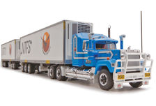 MACK SUPERLINER ROADTRAIN REFER PANTECH with TWO TRAILERS (NTFS)