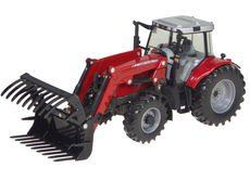 MASSEY FERGUSON 6480 TRACTOR with FRONT LOADER