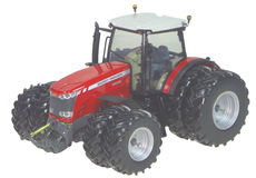 MASSEY FERGUSON 8690 DYNA VT TRACTOR with Front & Rear Duals,  precision model
