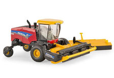NEW HOLLAND 220 SPEEDROWER WINDROWER with TWO HEADS