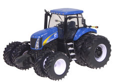 NEW HOLLAND T8040 TRACTOR with Frt & Rr Duals  Prestige Series