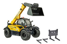 NEW HOLLAND TH7.42 ELITE TELESCOPIC HANDLER with BUCKET & FORKS