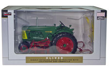 OLIVER SUPER 88 nf with MID & REAR MOUNT CULTIVATORS
