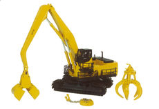 KOMATSU PC1100LC MATERIALS HANDLER with 3 TOOLS (box shelfworn)