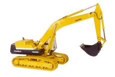 KOMATSU PC400LC EXCAVATOR with metal tracks