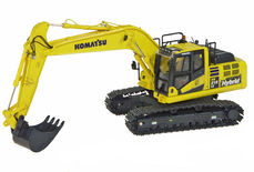 KOMATSU PC 215 HYBRID EXCAVATOR  very detailed