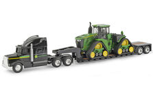 PETERBILT LOW LOADER SEMI with JOHN DEERE 9570RX TRACTOR