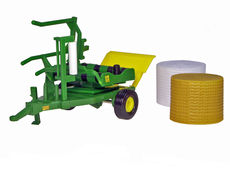 BRITAINS ROUND BALE WRAPPER  (green)