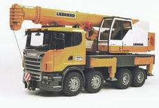 SCANIA R-SERIES/LIEBHERR MOBILE CRANE