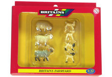 BRITAINS SHEEP (3 sheep + 4 lambs)
