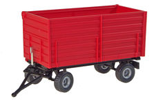 SIKU 4 WHEEL SIDE TIPPING TRAILER