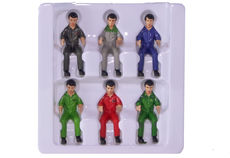 SIKU TRACTOR DRIVERS  - Set of 6