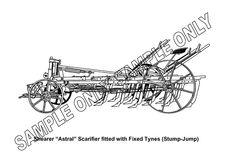 MURRAY PARKER SKETCH (mounted) - SHEARER SCARIFIER