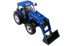 NEW HOLLAND T6.180 TRACTOR with LOADER